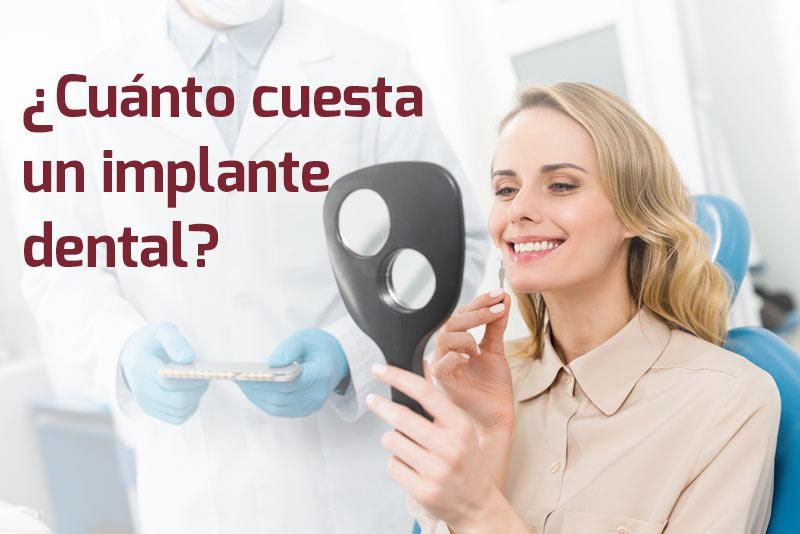 Precio de ponerse implantes dentales